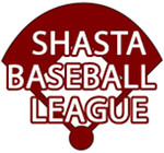 Shasta Baseball League standard logo